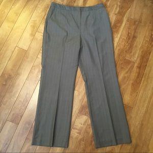 Calvin Klein pinstripe dress pants